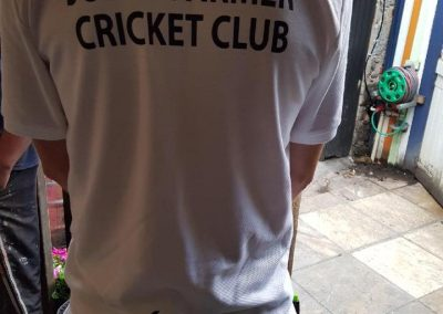 Sponsorship of Jolly Farmer Cricket Club 1